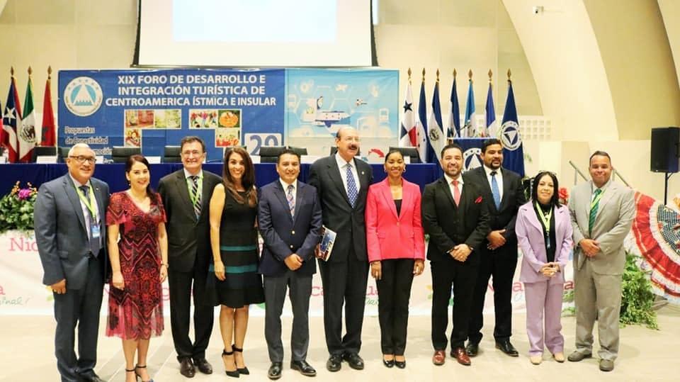 Autoridades de Turismo, SITCA y CATA participaron del XIX Foro de Turismo organizado por PARLACEN
