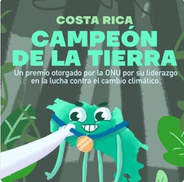 SICA felicita a Costa Rica por recibir premiación Campeones de la Tierra